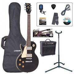 Encore EBP-LHE99BLK Left Hand Electric Guitar Outfit Gloss Black (B-Stock) #916147 (Rozbaleno) #916147