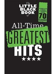Hal Leonard The Little Black Songbook: All-Time Greatest Hits Kotta