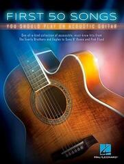 Hal Leonard First 50 Songs You Should Play On Acoustic Guitar Kotta