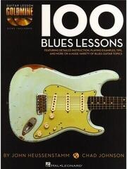 Hal Leonard Chad Johnson/John Heussenstamm: 100 Blues Lessons Music Book