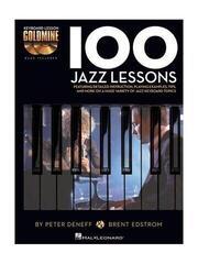 Hal Leonard Keyboard Lesson Goldmine: 100 Jazz Lessons Music Book