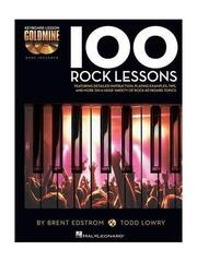 Hal Leonard Keyboard Lesson Goldmine: 100 Rock Lessons