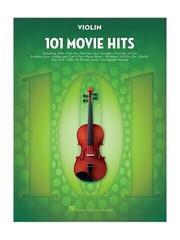 Hal Leonard 101 Movie Hits For Violin Music Book