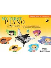 Hal Leonard Faber Piano Adventures: My First Piano Adventure Music Book