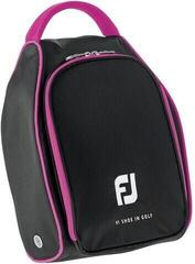 Footjoy Nylon Shoe Bag Black/Pink