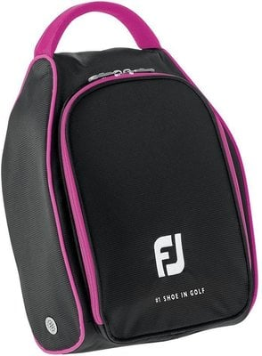 Footjoy Nylon Shoe Bag Black/Pink