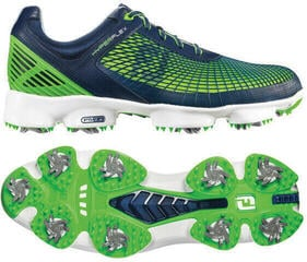 Footjoy Hyperflex Mens Golf Shoes Navy/Lime