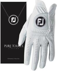Footjoy PureTouch Mens Golf Glove White Left Hand for Right Handed Golfers XL