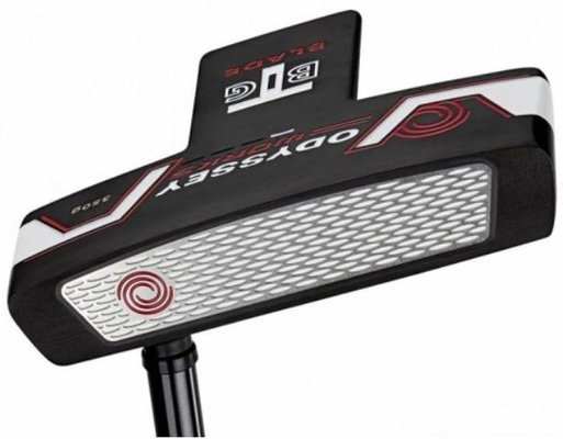 Odyssey Works Big T Putter Black/White/Black Right Hand 35