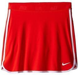 Nike Girls Skort Light Crimson/White/Metallic Silver L