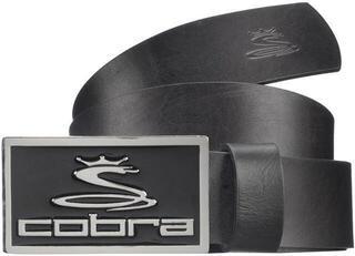 Cobra Enamel Fitted Belt Black L