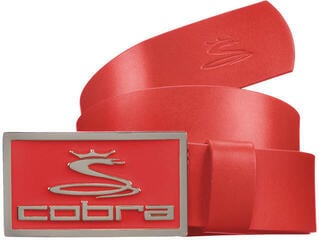 Cobra Golf Enamel Fitted Belt Red XL