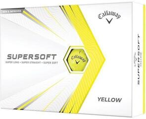 Callaway Supersoft 21 Yellow Golf Balls