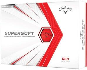 Callaway Supersoft Matte 21 Red Golf Balls