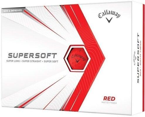 Callaway Supersoft Matte 21 Red Golf Balls