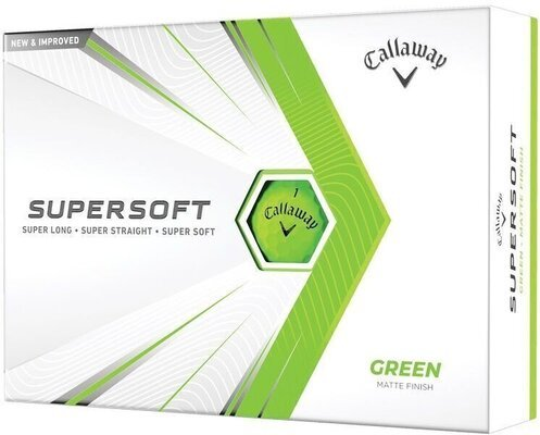Callaway Supersoft Matte 21 Green Golf Balls