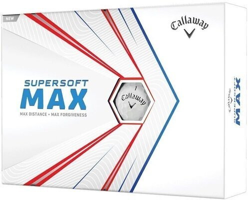 Callaway Supersoft Max White Golf Balls