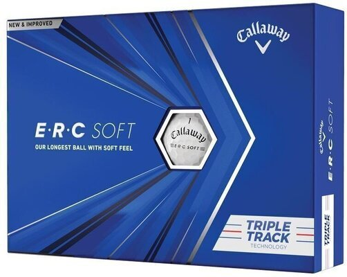 Callaway ERC Soft White Triple Track Golf Balls