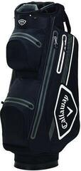 Callaway Chev 14 Dry Cart Bag Black/White/Charcoal
