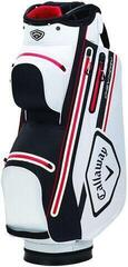 Callaway Chev 14 Dry Cart Bag White/Black/Red