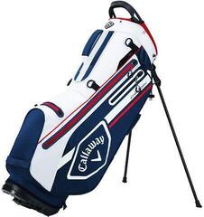 Callaway Chev Dry Stand Bag Navy/White/Red