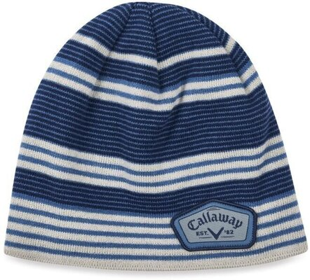 Callaway Winter Chill Beanie Blue/Silver/Navy