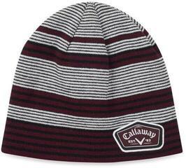 Callaway Winter Chill Beanie White/Black/Maroon