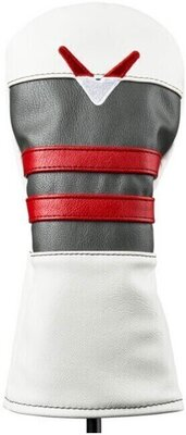 Callaway Vintage Fairwaywood Head Cover White/Charcoal/Red