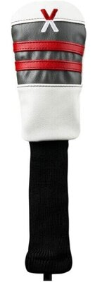 Callaway Vintage Hybrid Head Cover White/Charcoal/Red