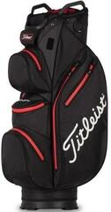 Titleist Cart 14 StaDry Cart Bag Black/Red
