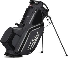 Titleist Hybrid 14 StaDry Cart Bag Charcoal/Black/Grey