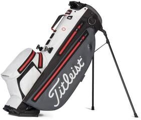 Titleist Players 4+ StaDry Stand Bag Charcoal/White/Red