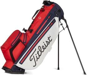 Titleist Players 4+ StaDry Stand Bag Red/White/Navy