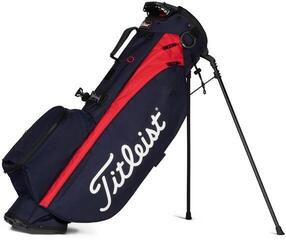 Titleist Players 4 Stand Bag Navy/Red
