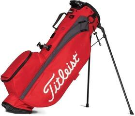 Titleist Players 4 Stand Bag Red/Graphite