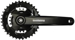 Shimano FC-MT101-2 Crankset 2x9-Speed 175mm 36/22T Black