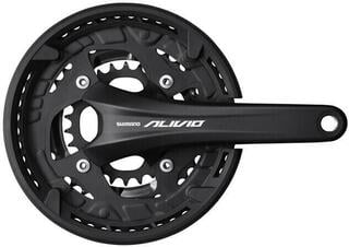 Shimano Alivio FC-T4060 Crankset 3x9-Speed 175mm 48/36/26T Black