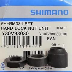 Shimano FH-TX505/RM33 Left Hand Lock Nut Unit - Y30V98030