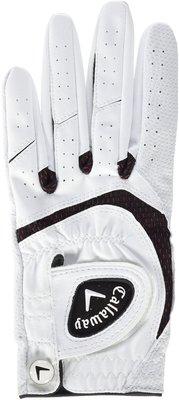 Callaway SynTech Mens Golf Glove White LH ML