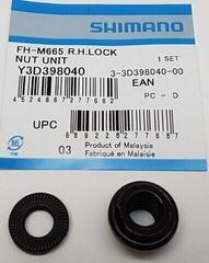 Shimano SLX FH-M7000/M665 Rear Right Lock Nut - Y3D398040