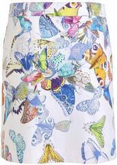 Golfino Butterfly Printed Stretch Womens Skort White
