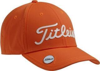 Titleist Tour Performance Ball Marker Mens Cap Orange/White
