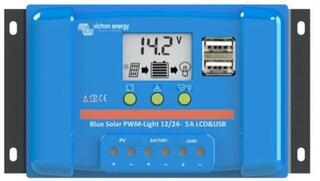 Victron Energy BlueSolar PWM-LCD 12/24V-5A