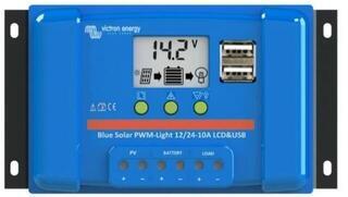 Victron Energy BlueSolar PWM-LCD 12/24V-10A