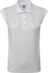 Footjoy Cap Sleeve Print Interlock Womens Polo Shirt