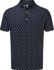 Footjoy Smooth Pique Weather Print Mens Polo Shirt
