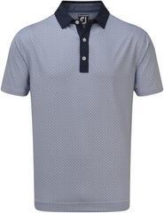 Footjoy Lisle Foulard Print Mens Polo Shirt