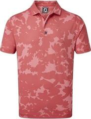 Footjoy Pique Camo Floral Print Mens Polo Shirt