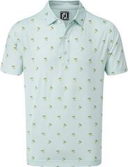 Footjoy Lisle Cocktail Print Mens Polo Shirt