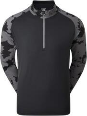 Footjoy Camo Floral Half Zip Midlayer Mens